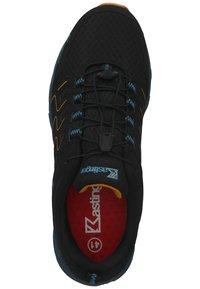 Kastinger - Sneakers laag - black/orange - 3