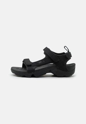 TANZA UNISEX - Walking sandals - black