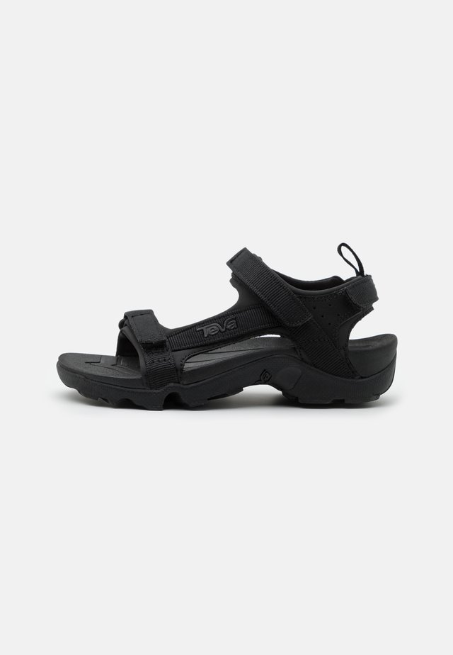 TANZA UNISEX - Outdoorsandalen - black
