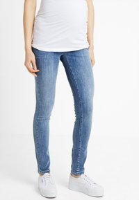 Supermom - DAMAGED - Jeans Skinny Fit - blue denim - 0