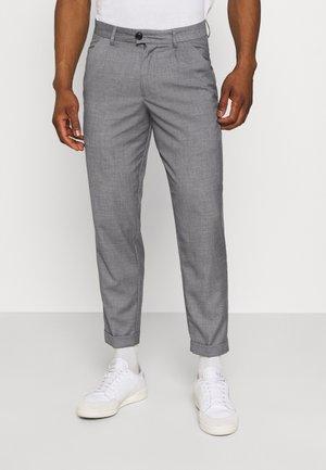 JJIBILL JJJORDY CROPPED - Kalhoty - grey melange