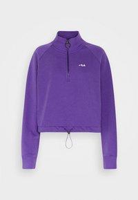 MARCY HALF ZIP - Sweatshirt - ultra violet