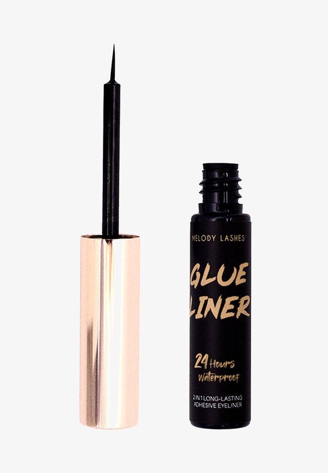 GLUE LINER - Lösögonfransar - black