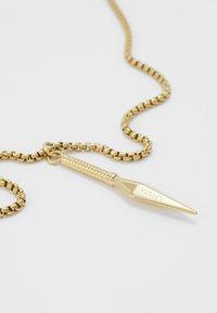 Vitaly - KUNAI UNISEX - Necklace - gold-coloured - 5