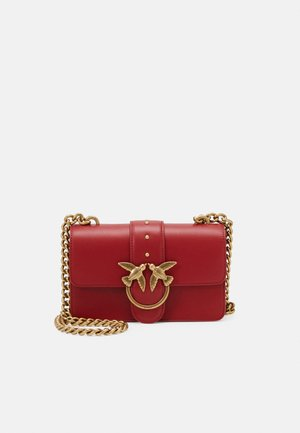 LOVE MINI ICON SIMPLY - Across body bag - ruby red