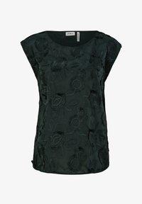 s.Oliver BLACK LABEL - Print T-shirt - leaf green - 6