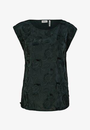 T-shirt imprimé - leaf green