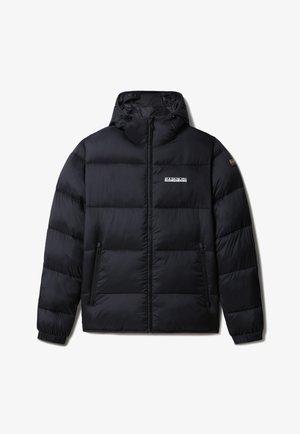 A-SUOMI HOOD - Winter jacket - black