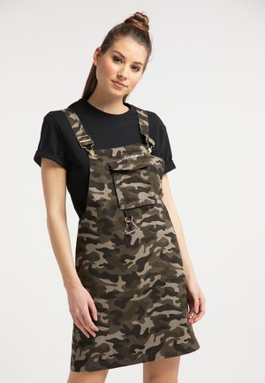 Day dress - camouflage