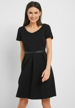 MIT V-AUSSCHNITT - Day dress - schwarz