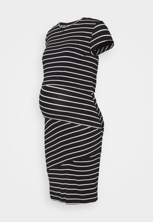 Nursing Shift dress - Sukienka etui - black/off-white