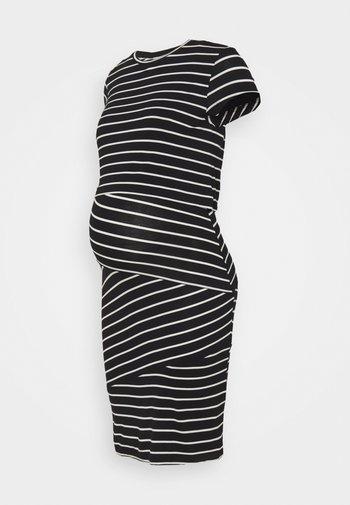 Nursing Shift dress - Etuikjole - black/off-white
