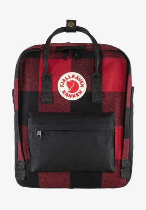 RE-WOOL  - Rucksack - red-black