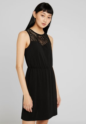 VMMILLA SHORT DRESS - Trikoomekko - black