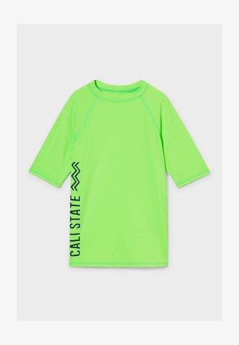 Rash vest - neon green