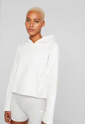 EVOSTRIPE HOODY - Hættetrøjer - white heather