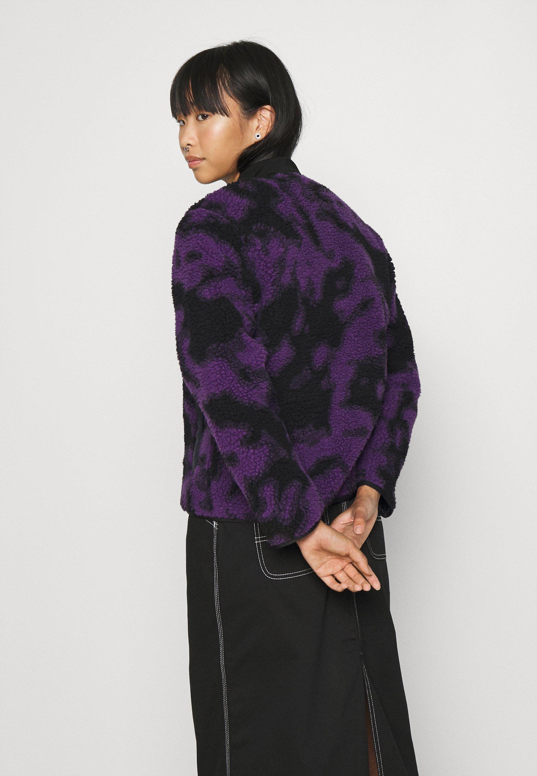 Carhartt WIP JANET LINER Winterjacke blur/purple/lila