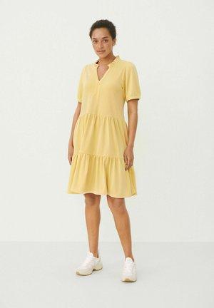 Jersey dress - sahara sun