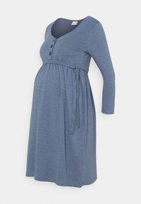 MAMALICIOUS - MLREYSA LIA DRESS - Jersey dress - china blue - 0