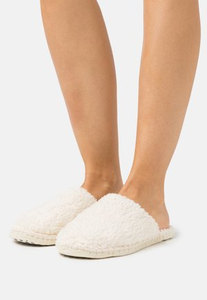 PANTOUFLE CHAUSSON TEDDY - Slippers - nature
