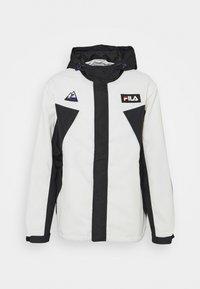 Fila - CLEAVE SHELL JACKET - Summer jacket - blanc de blanc/black - 0