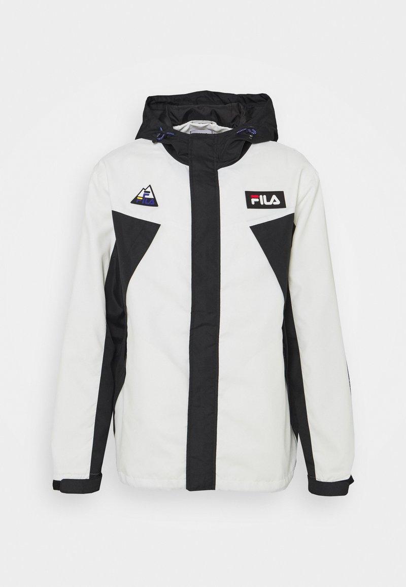 Fila - CLEAVE SHELL JACKET - Summer jacket - blanc de blanc/black