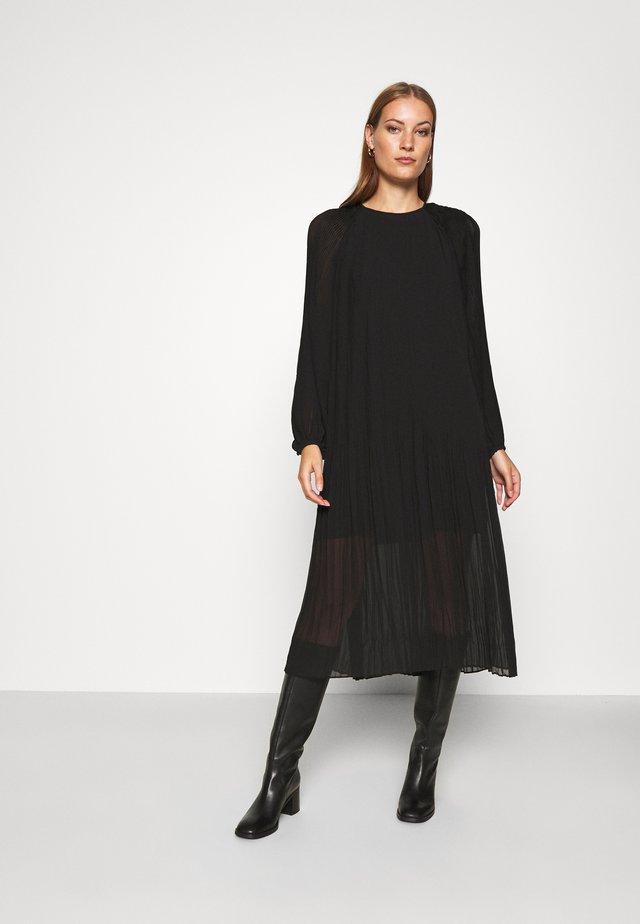ELENA DRESS - Maksimekko - black