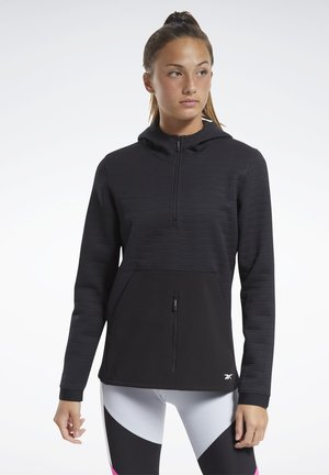 THERMOWARM DELTAPEAK CONTROL - Zip-up hoodie - black