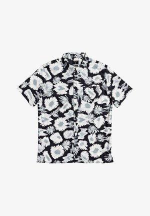 Shirt - black warped