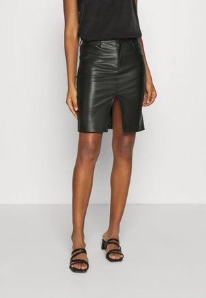 VIHELENA MIDI SKIRT - Pencil skirt - black