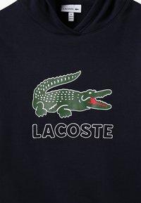 Lacoste - BOY LOGO HOODIE - Hættetrøjer - marine - 3