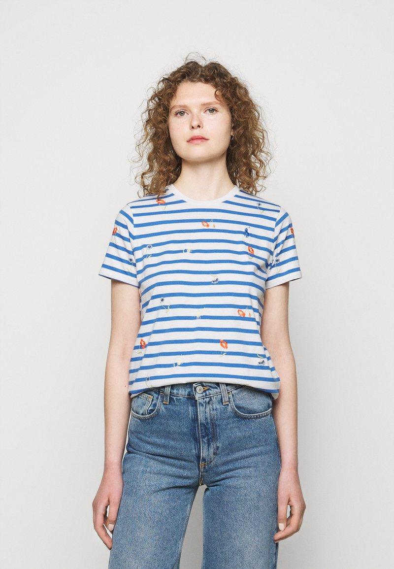 Polo Ralph Lauren - T-shirt con stampa - blue/white