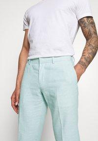 Isaac Dewhirst - PLAIN WEDDING - Oblek - mint - 9