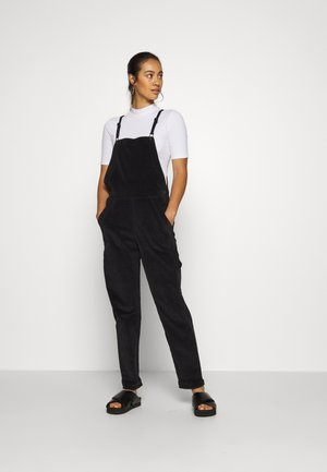 OVERALL - Dungarees - onyx black