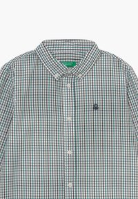 Benetton - Shirt - white/green/blue - 3