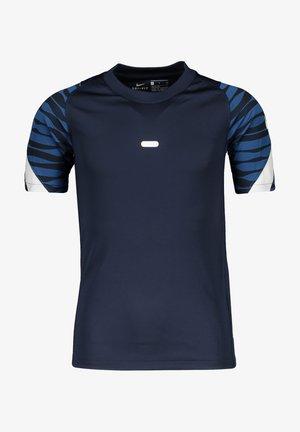 UNISEX - Print T-shirt - blauweiss
