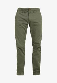TOM TAILOR - Chinos - dark thyme green - 3