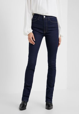 MAYA FLARE - Flared Jeans - black denim