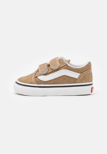 OLD SKOOL  - Sneakers laag - bronze age/true white