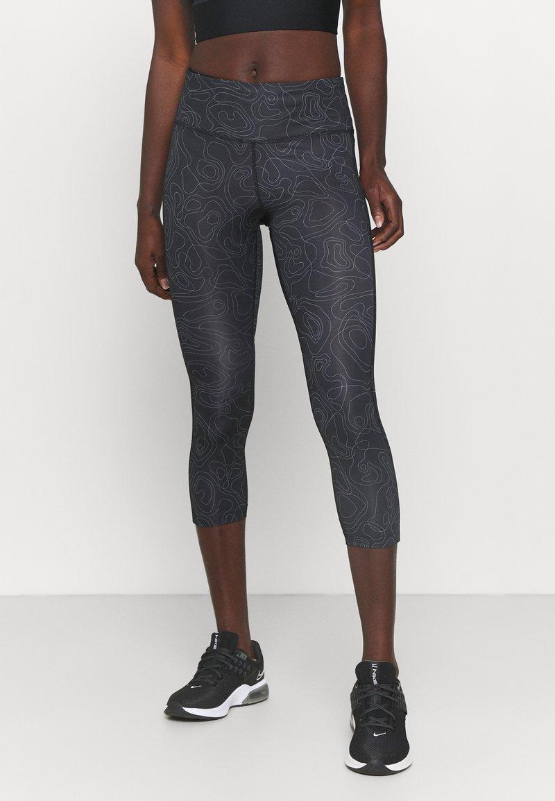 Nike Performance - RUN FAST CROP - Collant - black