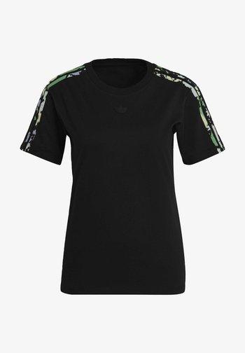 REGULAR TEE - T-shirt con stampa - black