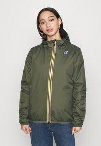 K-Way - UNISEX LE VRAI CLAUDE WARM - Waterproof jacket - black torba - 0