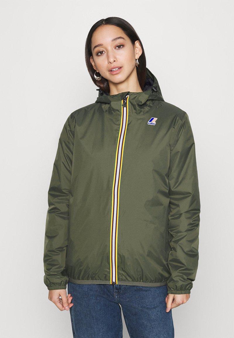 K-Way - UNISEX LE VRAI CLAUDE WARM - Waterproof jacket - black torba