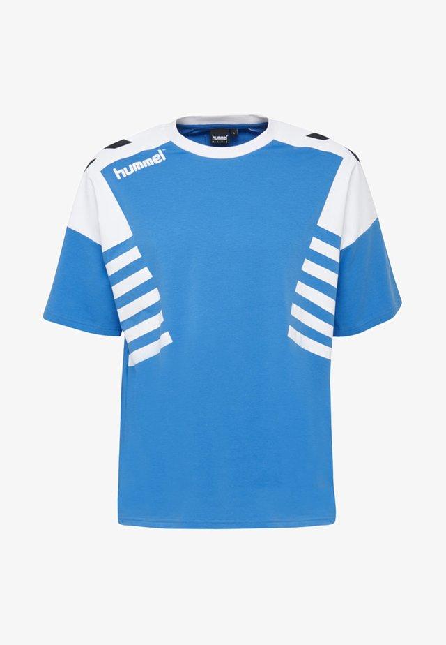 T-shirts print - french blue