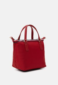 Tommy Hilfiger - POPPY SMALL TOTE CORP - Handbag - red - 1