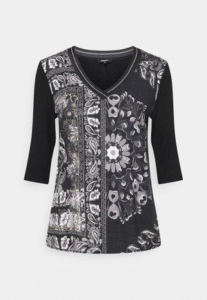 VARSOVIA - Long sleeved top - black