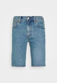 SLIM SHORT - Denim shorts - blue denim