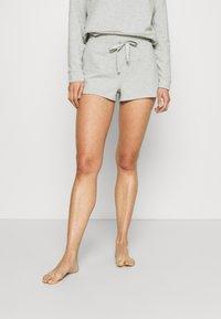 Calvin Klein Underwear - SLEEP SHORT - Pyjama bottoms - grey heather - 0