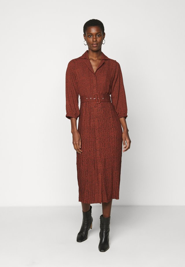 ORIANA MIDI DRESS  - Blousejurk - smoked