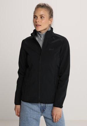 NORTHERN PASS WOMEN - Soft shell jacket - black